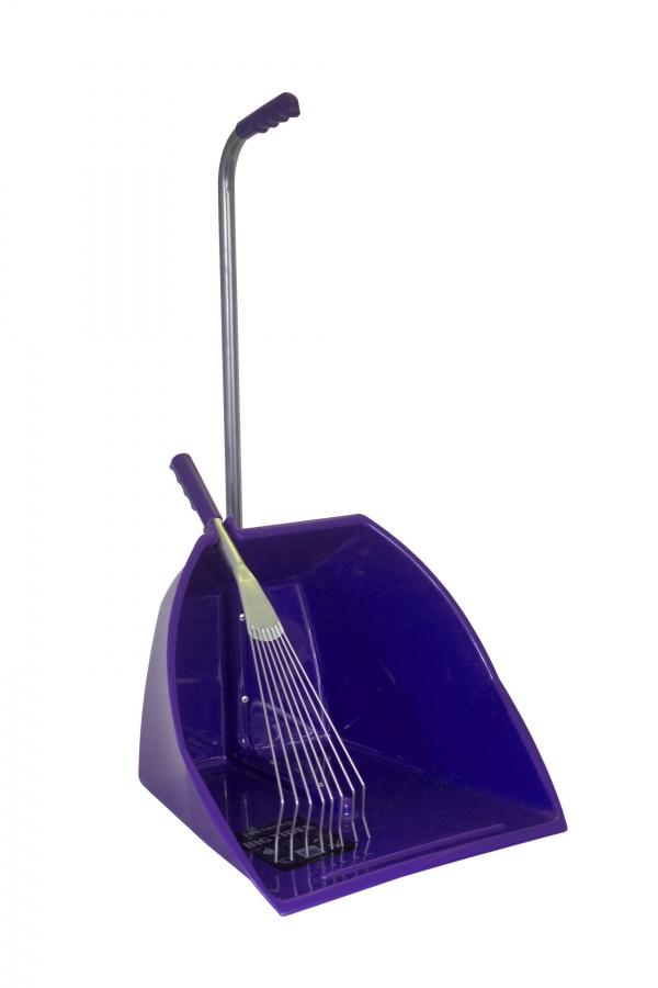 Místovací souprava - velká lopata + kovové hrabičky